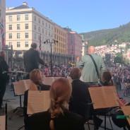 Solist med Sjøforsvarets Musikkorps under Hansadagene