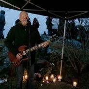 """Spilte """"Vitae Lux"""" på minnemarkering for Sleipner-forliset"""